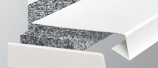 fensterbankaufs tze aus pvc. Black Bedroom Furniture Sets. Home Design Ideas